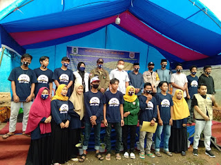 Kepala Desa Polewali Buka Acara Kemah Literasi Karang Taruna di Dusun Jenna