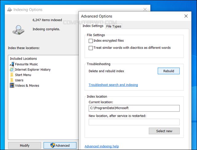 إخفاء ملفات أو مجلدات محددة من نتائج البحث في ويندوز 10 hide-files-from-windows-search Annotation%2B2020-03-15%2B202701