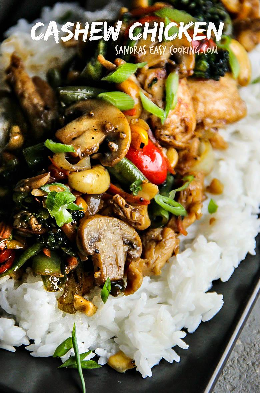 Cashew Chicken #RECIPE #homemade