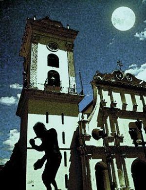 el enano de la catedral de caracas