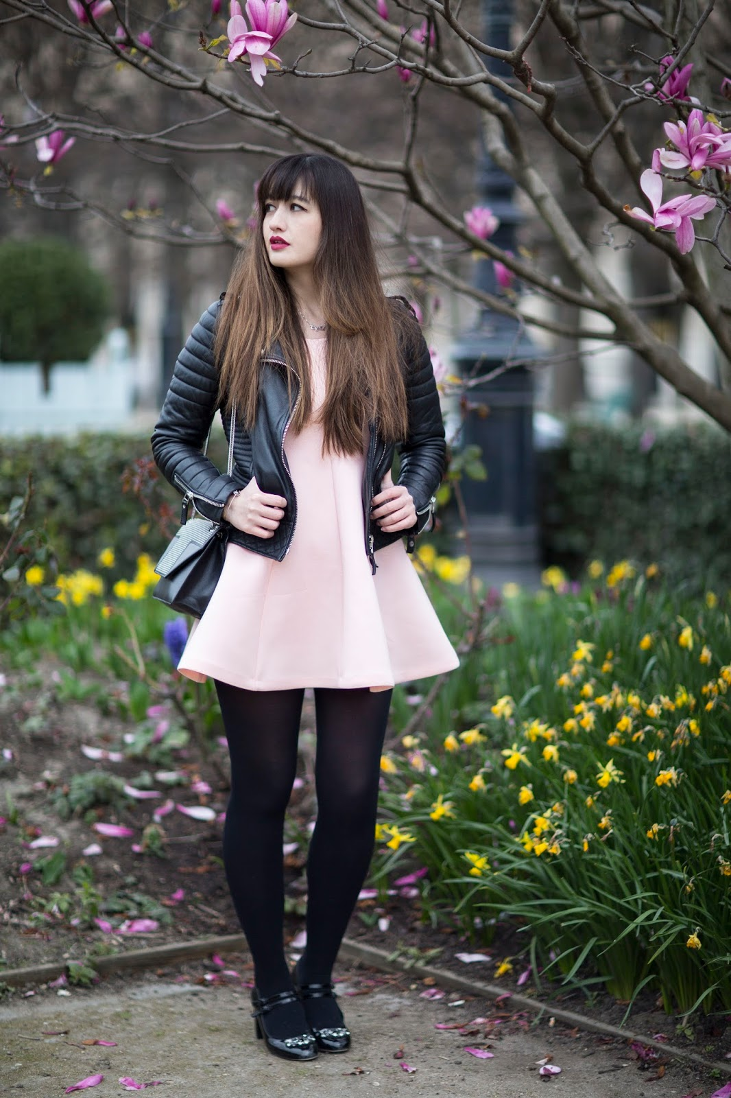 meet me in paree, blogger, fashion, look, style, pink, fashion photography, look, chic style