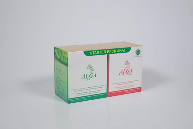 Cara membuat badan tinggi secara alami dengan Alga Kirei dan Alga Tea