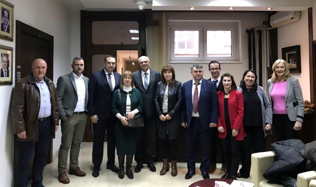 Επιχειρηματική αποστολή του Επιμελητηρίου Χαλκιδικής στο Βελιγράδι της Σερβίας.