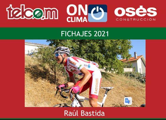 Raúl Bastida correrá en 2021 en el Telco,m On Clima Osés