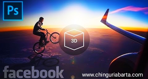 How to add 3d photo on Facebook