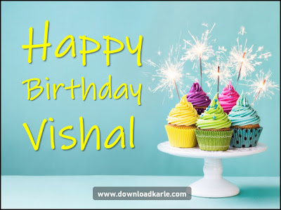 Happy Birthday Vishal Image Download