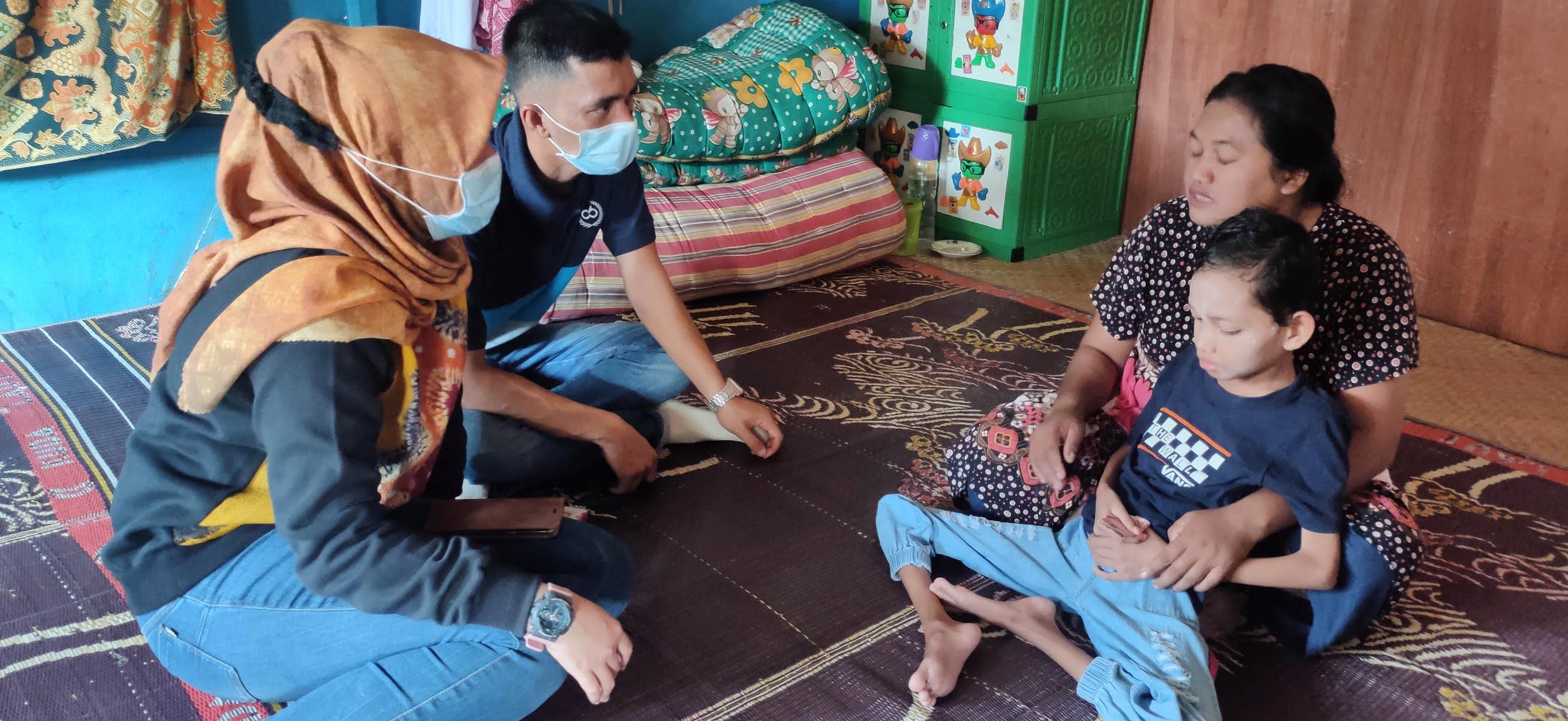 Derita Polio Sejak Lahir, Yunita Butuh Bantuan Kursi Roda