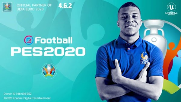 eFootball PES 2020 Mobile UEFA EURO Patch Android