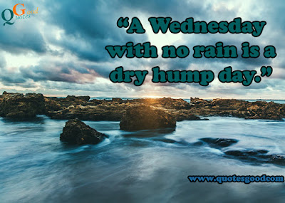 Wednesday quotes to hump day