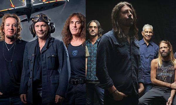 Foo Fighters entra al Salón de la Fama del Rock y Iron Maiden queda fuera