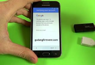 Cara Verifikasi Akun Google Samsung Galaxy S5 SM-G900V