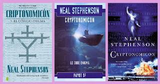 Portadas del libro Criptonomicón de Neal Stephenson