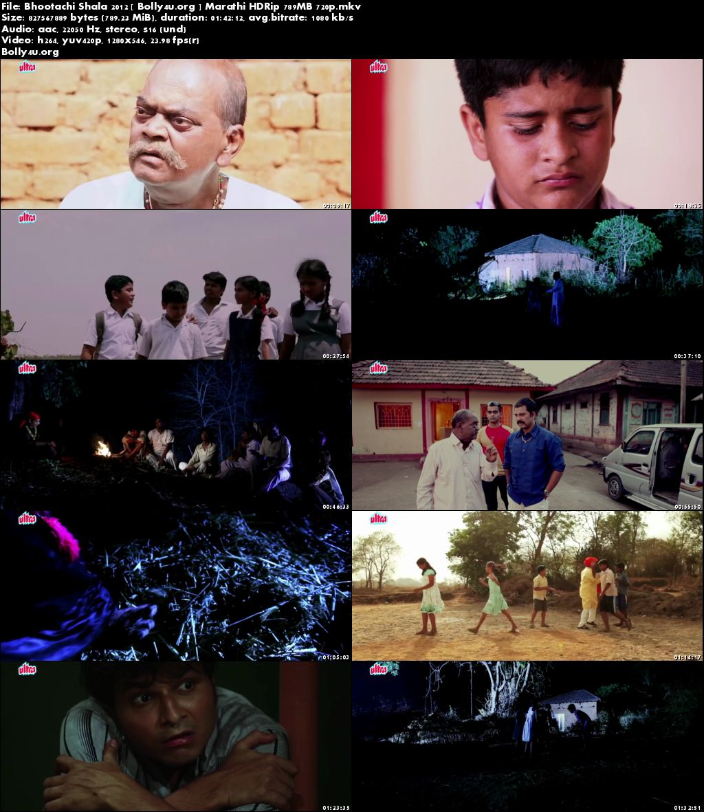 Bhootachi Shala 2012 HDRip 750MB Marathi Movie 720p Download