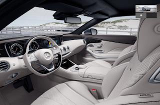 Nội thất Mercedes S500 Cabriolet 2019 màu Vàng Porcelain 965
