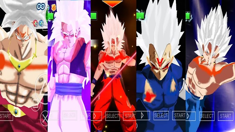 Dragon Ball Z Android Game Tenkaichi Tag Team Mod V7