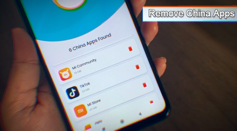 Remove China Apps has been removed from Google Play Store