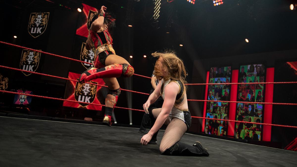 Meiko Satomura and Isla Dawn in WWE NXT UK