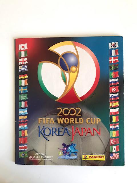 Copertina Album Panini Korea Giappone 2002