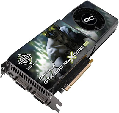 Nvidia GeForce GTX 260ドライバーダウンロード