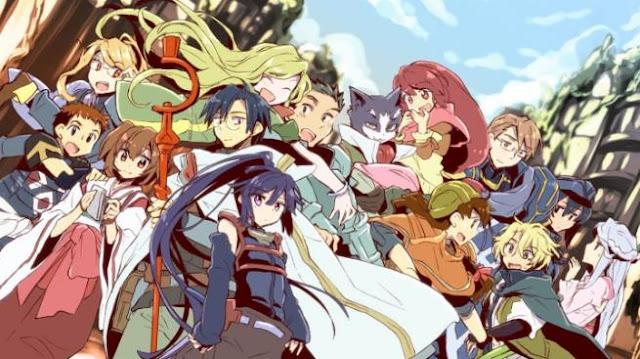 Daftar Film Anime Mirip Fairy Tail - Log Horizon