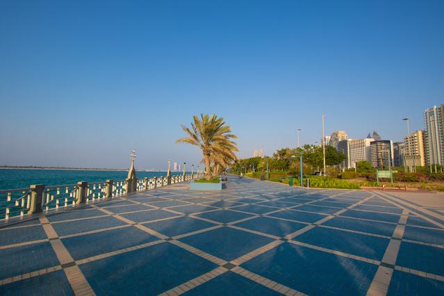 Corniche (lungomare)-Abu Dhabi