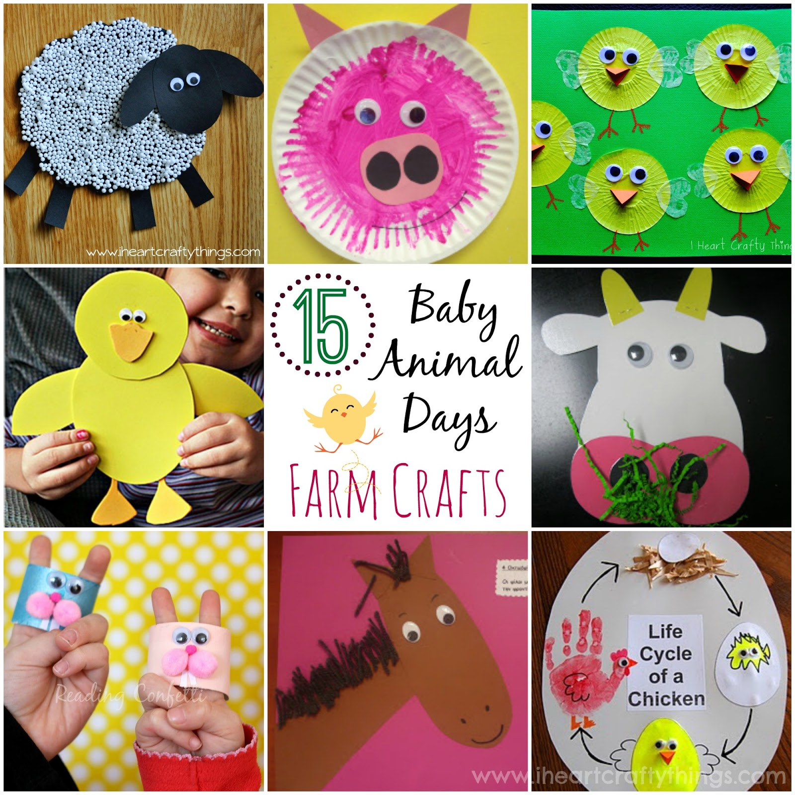 I Heart Crafty Things Sheep Craft For Kids