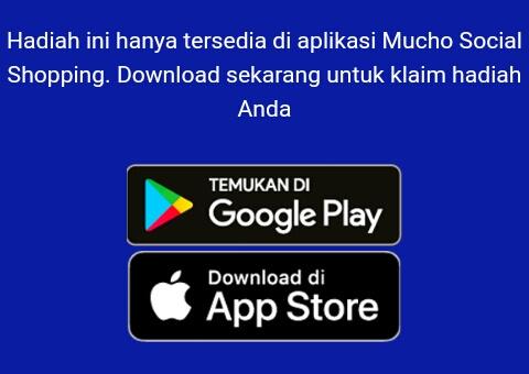 download Aplikasi Mucho di Playstore atau App Store dan buka apknya.