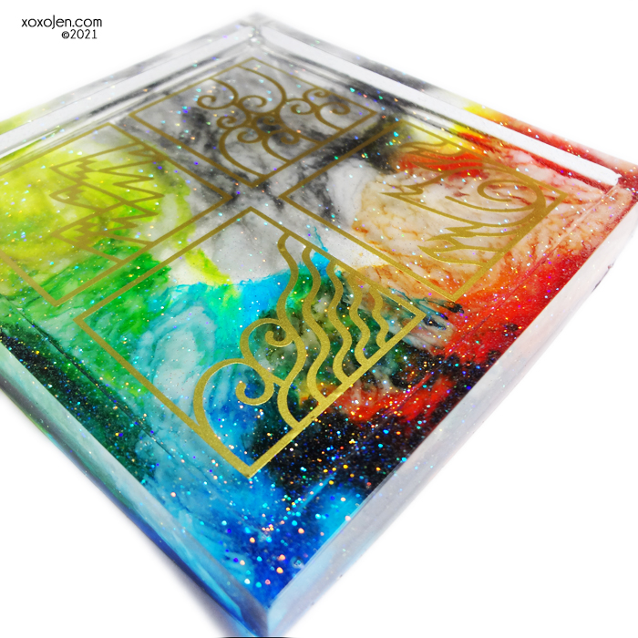 Soapy Chef Four Elements Trinket Dish