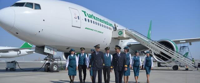 Aşkabat Türkmenbaşı Uçak Bileti
