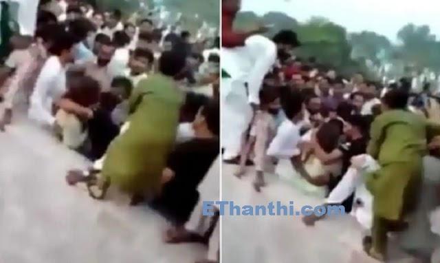 டிக் டாக் பிரபலத்தின் ஆடையை கிழித்து அந்தரத்தில் வீசி கொடுமை !