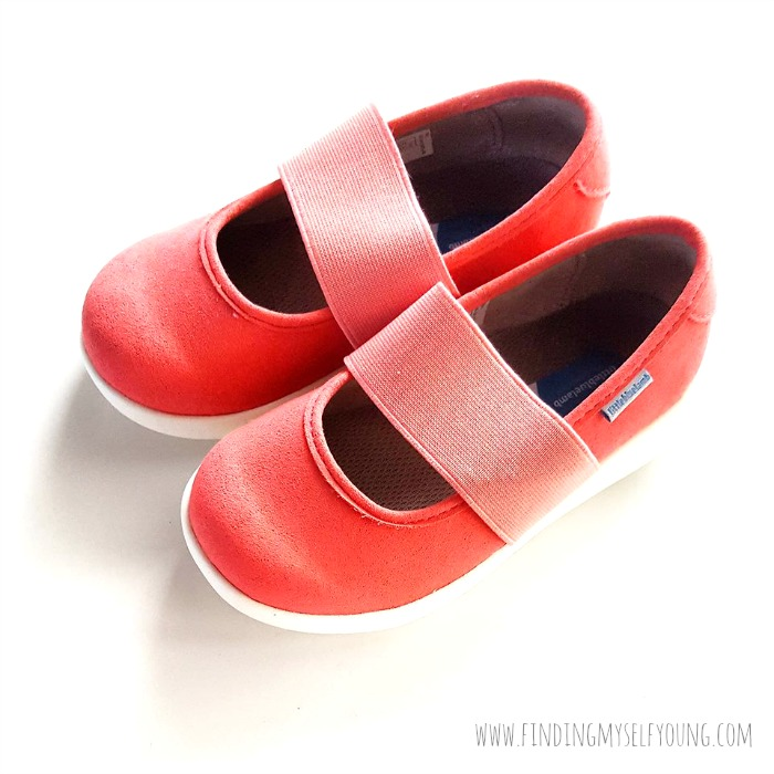 peach toddler ballet flats
