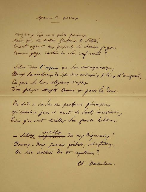 """""""Manon la pierreuse"""" de Charles Baudelaire (Arabécédesque, Olivier Goldsmith)"""