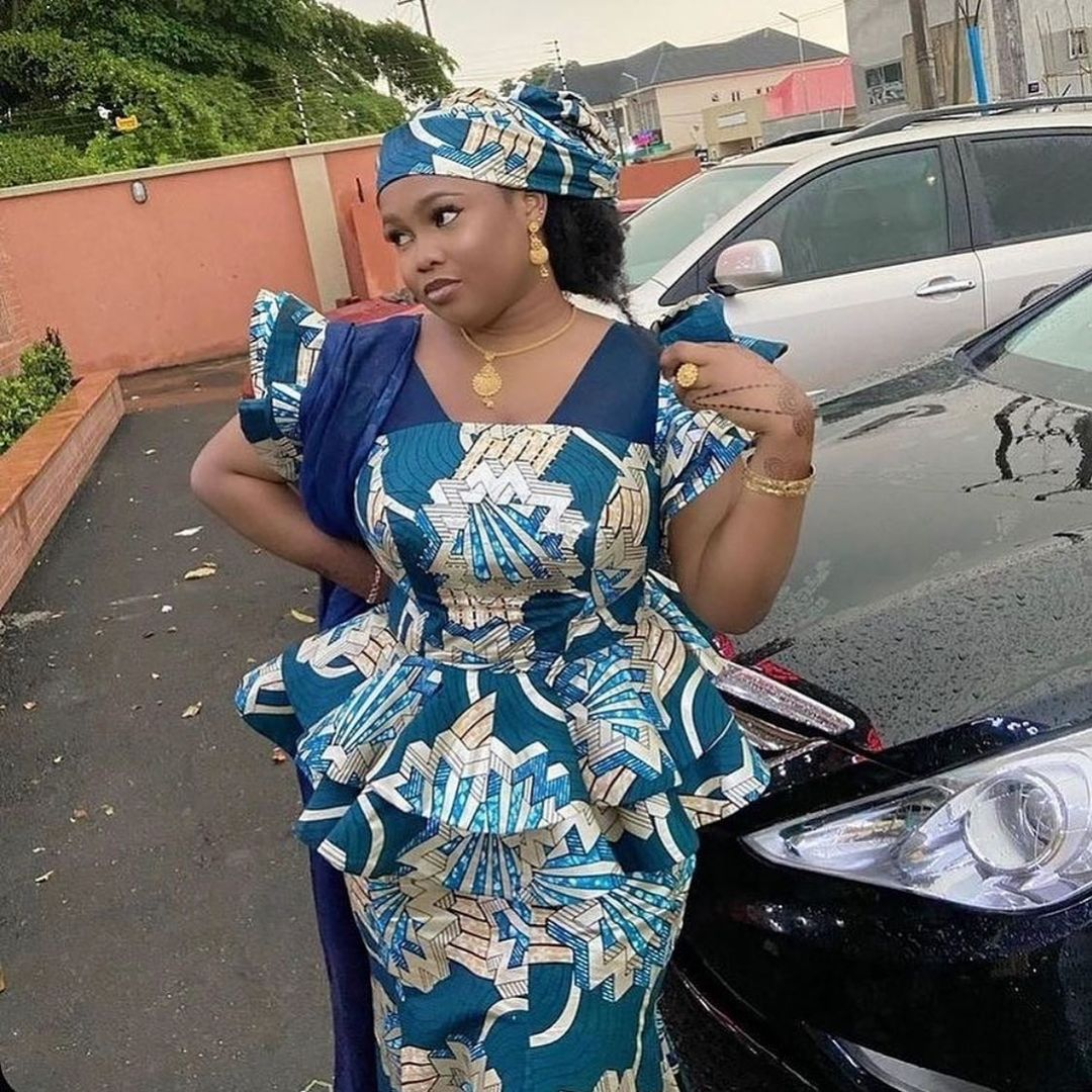 Latest Ankara skirt and blouse styles 20 for ladies