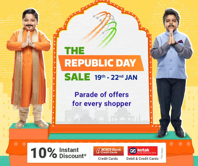Flipkart Republic Sale 19th - 22nd January 2020