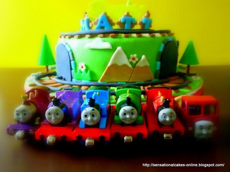 Cakes2share Singapore Thomas The Train Percy 3d Train