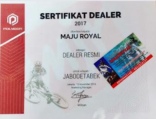 Toko Sepeda Majuroyal adalah Dealer Resmi Sepeda Polygon
