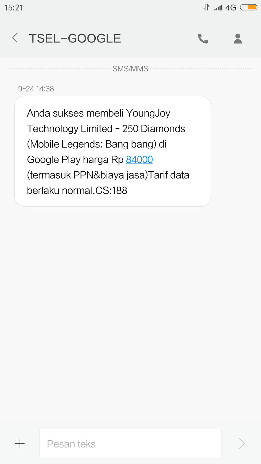 Cara Beli Diamond Top Up Mobile Legend Pakai Pulsa Liriapro X Do