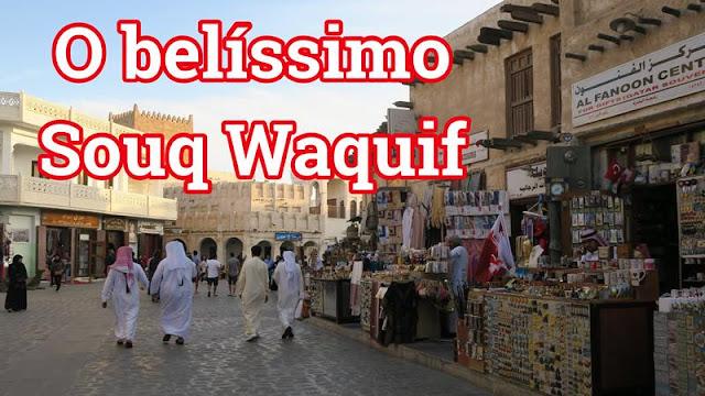 Souq Waquif, em Doha Qatar