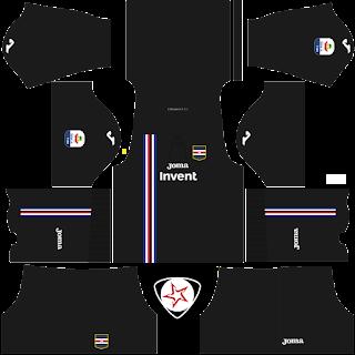 UC Sampdoria 2018 - 2019 Third Kit