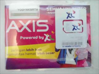 gambar cara cek nomor Axis