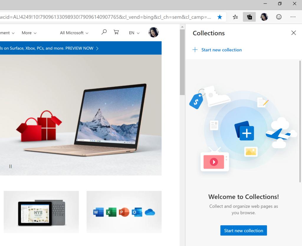 Dettagli-Raccolte-Microsoft-Edge