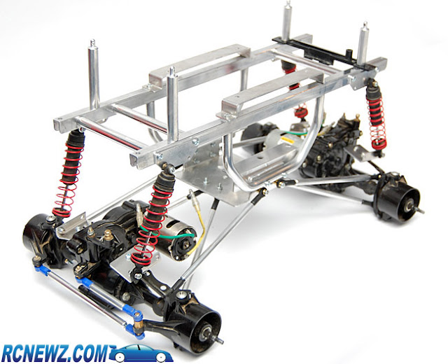 Tamiya Clod Buster aftermarket chassis