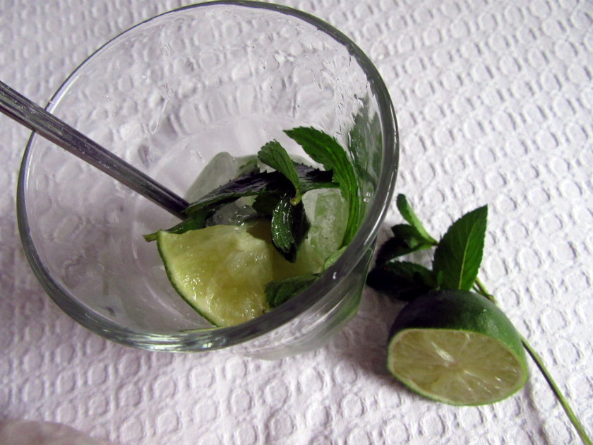 Cuban mojito by Laka kuharica: Stir the mix together