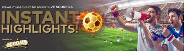 55goal review football live score soccer instant replay goals