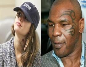 Mike Tayson y Rachel Bilson Tatuajes