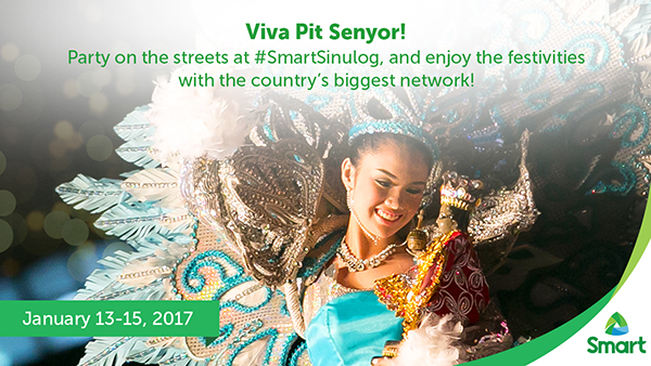 Giga-fy your Sinulog Festival Experience with Smart