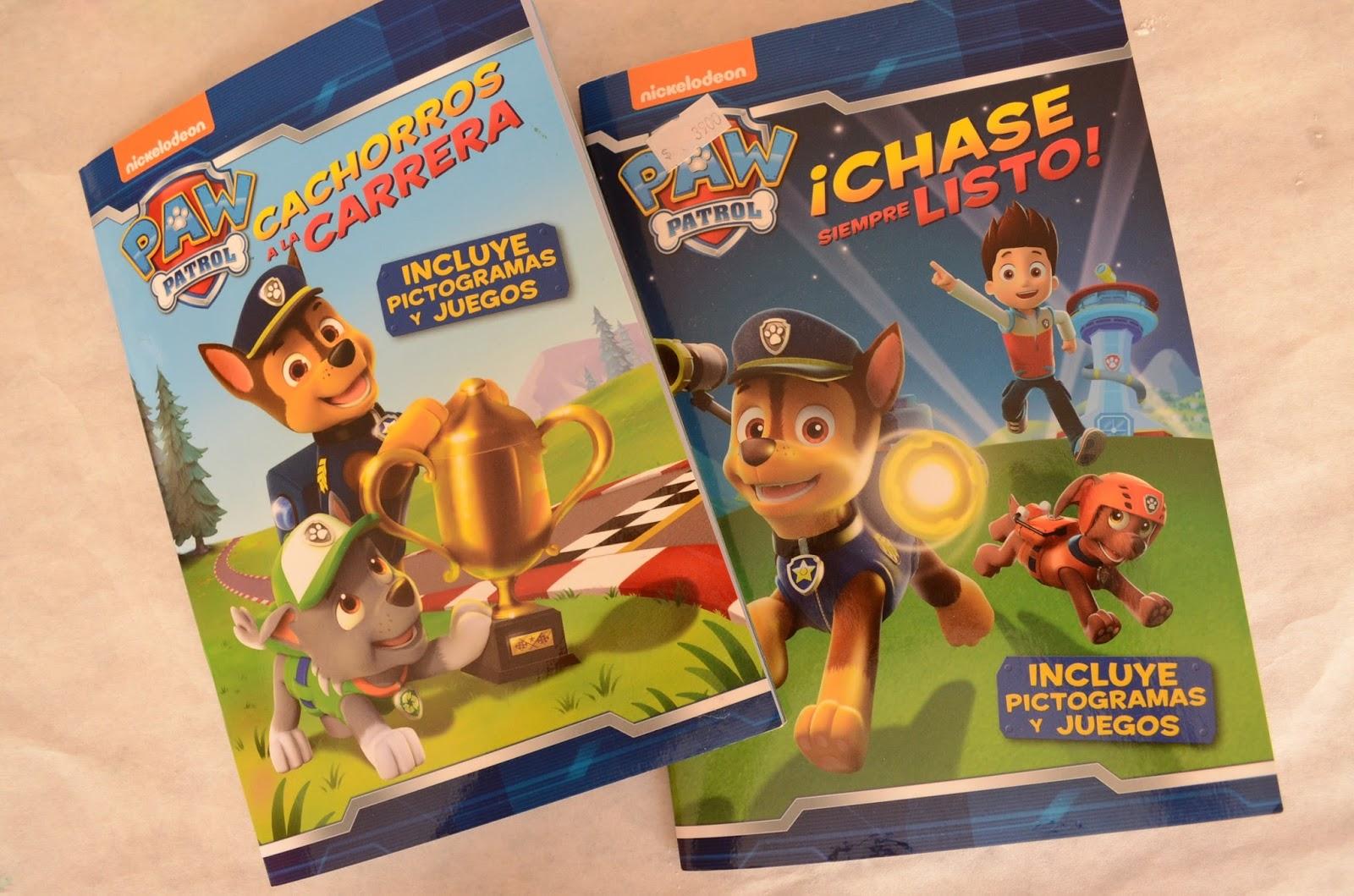 Paw Patrol Books in Spanish