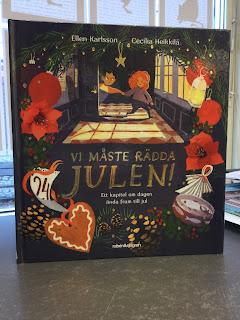 Bild på boken Vi måste rädda julen av Ellen Karlsson