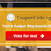 We Have been Nominated for the Tech & Gadget Blog Awards 2017