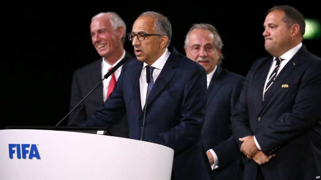 FIFA designa por primera vez tres países como sede del evento deportivo / AP